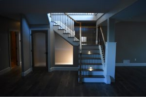 Basement Stairs remodel after